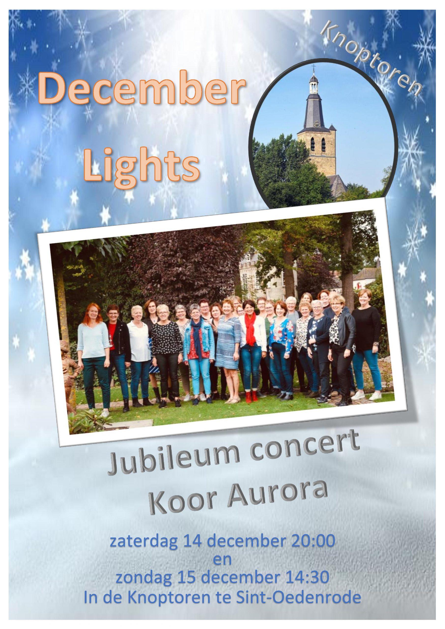 Aurora December lights knoptoren2019